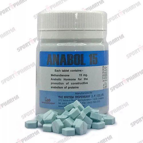 Methandienone pills